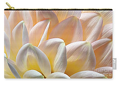 Pretty Pastel Petal Patterns Carry-all Pouch by Kaye Menner