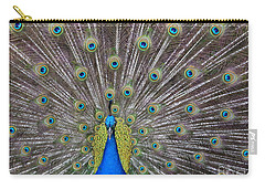 Pretty Peacock Carry-all Pouch