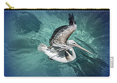 Carry-all Pouch featuring the photograph Pretty Pelican by Pennie  McCracken