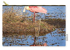 Pretty Spoonbill Carry-all Pouch