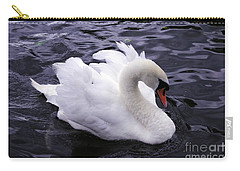 Pretty Swan Carry-all Pouch