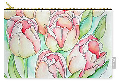 Pretty Tulips Carry-all Pouch