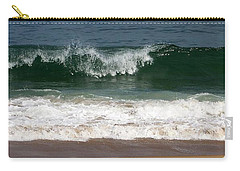 Carry-all Pouch featuring the photograph Pretty Wave by Eunice Miller