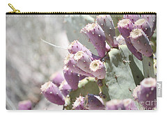 Prickly Pear Cacti Carry-all Pouch by Andrea Hazel Ihlefeld