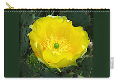 Prickly Pear Cactus Carry-all Pouch
