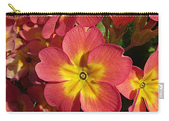 Primrose Flowers Carry-all Pouch
