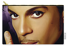 Prince Artwork Carry-all Pouch by Sheraz A
