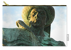 Carry-all Pouch featuring the photograph Prince Henry The Navigator by Kathy Barney