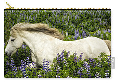 Prince Of The Lupine Carry-all Pouch by Joan Davis