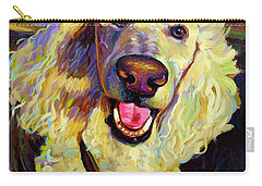 Princely Poodle Carry-all Pouch