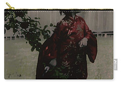 Carry-all Pouch featuring the photograph Princess Of Tranquility  by Jessica Shelton