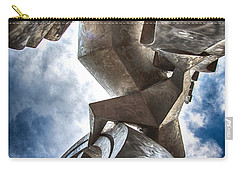 Pritchard Park Art Is Looking Up Carry-all Pouch by John Haldane