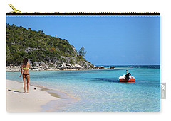 Private Beach Bahamas Carry-all Pouch