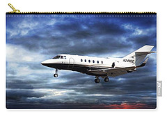 Flight Carry-all Pouch featuring the photograph Private Business by Aaron Berg