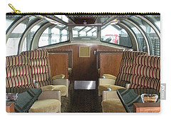 Private Dome Rail Car  Carry-all Pouch