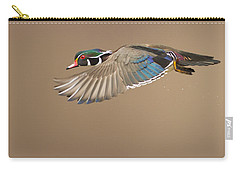 Probably The Most Beautiful Of All Duck Species Carry-all Pouch by Mircea Costina Photography