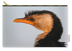 Profile Of A Young Cormorant Carry-all Pouch