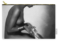 Profile Of Josephine Baker Carry-all Pouch