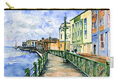 Promenade In Barbados Carry-all Pouch