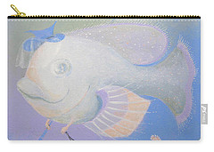 Carry-all Pouch featuring the painting Promenade by Marina Gnetetsky
