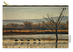 Promenade Of The Cranes Carry-all Pouch