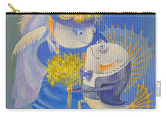 Carry-all Pouch featuring the painting Proposal by Marina Gnetetsky