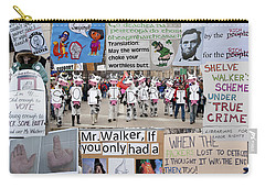 Protest Signs Carry-all Pouch