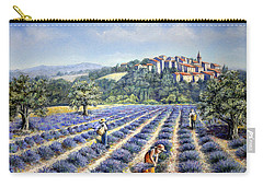 Provencal Harvest Carry-all Pouch by Rosemary Colyer