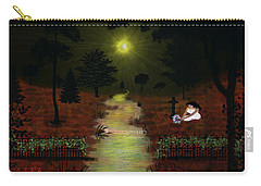 Psalm 23  Carry-all Pouch by Michael Rucker