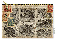 Psittacus Carry-all Pouch by Carol Leigh