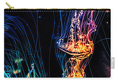 Psychedelic Cnidaria Carry-all Pouch by Olga Hamilton