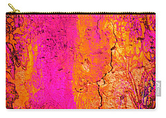 Carry-all Pouch featuring the digital art Psychedelic Flashback - Late 1960s by Absinthe Art By Michelle LeAnn Scott