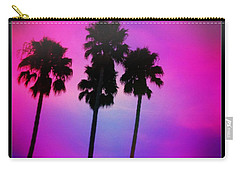 Psychedelic Palms Carry-all Pouch