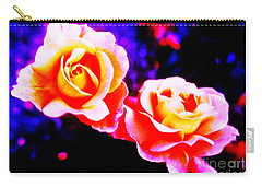 Psychedelic Roses Carry-all Pouch