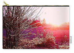 Psychedelic Winter   Carry-all Pouch by Martin Howard