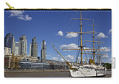 Puerto Madero Buenos Aires Carry-all Pouch by Venetia Featherstone-Witty