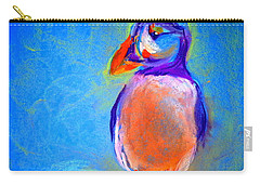 Funky Puffin Dancing Carry-all Pouch