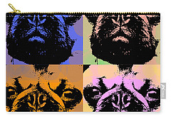 Pug Pop Art Carry-all Pouch by Jean luc Comperat