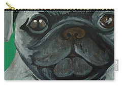 PUG Carry-all Pouch by Leslie Manley
