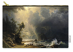 Puget Sound On The Pacific Coast Carry-all Pouch by Albert Bierstadt