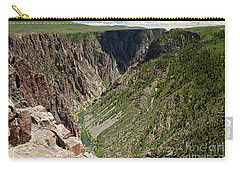 Pulpit Rock Overlook Black Canyon Of The Gunnison Carry-all Pouch