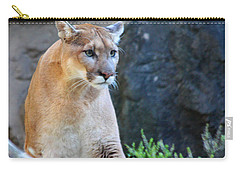 Puma On The Watch Carry-all Pouch by John Telfer