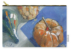 Pumpkin And Gourds Still Life Carry-all Pouch