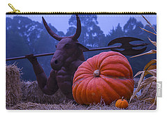 Pumpkin And Minotaur Carry-all Pouch