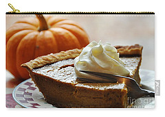 Pumpkin Delight Carry-all Pouch by Cheryl Baxter
