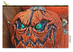 Pumpkin Face Carry-all Pouch