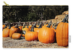 Pumpkin Goofing Off Carry-all Pouch