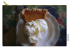 Pumpkin Pie A' La Mode Carry-all Pouch
