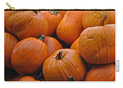 Carry-all Pouch featuring the photograph Pumpkin Pile by Tikvah's Hope