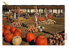 Carry-all Pouch featuring the photograph Pumpkins by Michael Gordon
